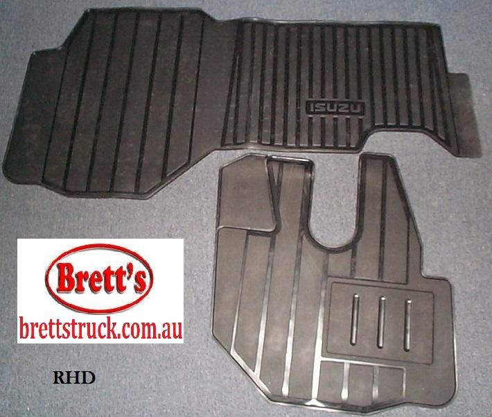 18880 202 Floor Mat Set Npr Nps Nqr 2008 2 Piece Rubber