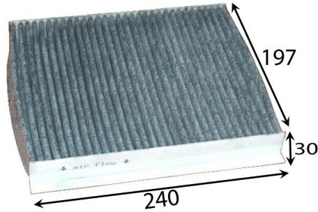 AC8507 CABIN AIR FILTER HONDA CIVIC 8TH GEN K20Z4 4 CYLINDER 2L PETROL WACF0091 RCA179P 80292 ...