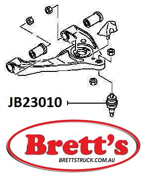 JB23010 BALL JOINT JIKIU SUSPENSION LOWER BALLJOINT ASSY MITSUBISHI Canter  Front Axle Arm/Rod Oct 10~Mar 13 FEA20 FEA50 FEA80 FEB20 FEB50 FEB80 FEB90