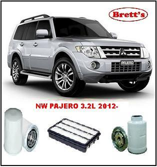 kit3053 filter kit mitsubishi pajero nw turbo diesel 4 3 2l 4m41 di dohc 16v 11 2012 oil fuel. Black Bedroom Furniture Sets. Home Design Ideas