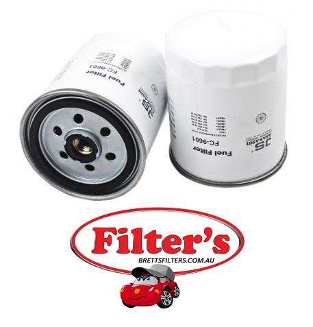 FC9601 FUEL FILTER MUSSO WAGON SPORT 10V - 2 9L 5CYL TD OM602 4WD - 1998-ON  SSANGYONG REXTON RX290 - 2 9L 5CYL TD - 2005- MERCEDES-BENZ CARS 190 190D