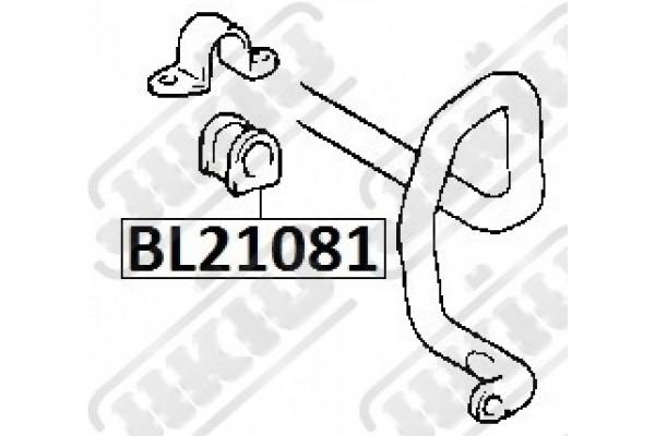 bl21033 bush jikiu stabilizer bush jikiu bl21033 for toyota rbi t21c05f toyota 48815