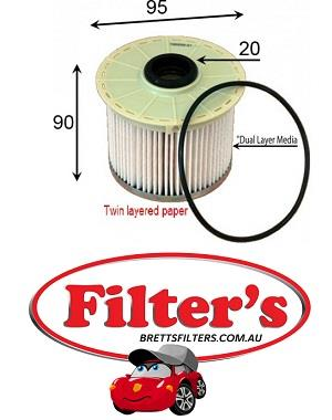 FE0025 FUEL FILTER HOLDEN RODEO TURBO DIESEL 3 0L 2007- ON HOLDEN COLORADO  TURBO DIESEL 3 0L 2008-ON ISUZU D-MAX TURBO DIESEL 3 0L 2008- ON ISUZU