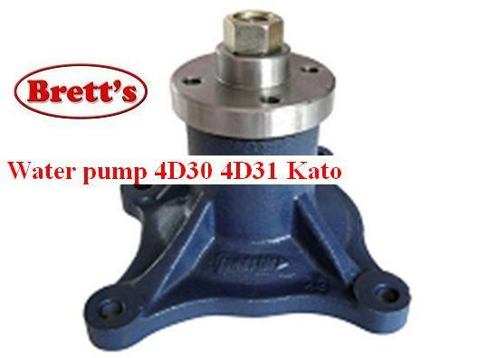 SPEC 14020 307 WATER PUMP MITSUBISHI WATER PUMP WATER PUMP Suits Industrial  earthmoving equipment only 4D31 engine Caterpillar E70 4D31T engine