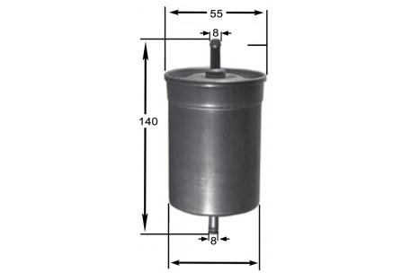 FSP22022 FUEL FILTER IN-LINE IN/OUT INLINE AC Delco GF715 AC Delco on