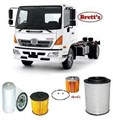 KIT1009 FILTER KIT FC6 FC6J  HINO	FC6J 1018 500 	  J05DTG	4.7L	2008-	OIL FUEL FUEL SERVICE FILTER SET KIT AIR