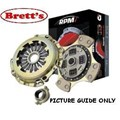 RPM1384N-SSC LEVEL 3 CLUTCH KIT RPM PBR FOR TOYOTA Landcruiser with Eng Conversion WITH HOLDEN V8 FLAT DIA COVER FJ40 FJ45 FJ55 FJ60 FJ62 FJ70 FJ73 FJ75 HJ47 HJ60 HJ61 HJ75 upgraded from standard FREE SHIPPING* R1384 R1384N