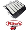 A22490 AIR FILTER  NISSAN Patrol Air Supply Sys Mar 10~ 5.6L Y62 VK56VD Patrol 5.6L V8 2013-  Y62  Petrol.  VK56VD DI DOHC 32V