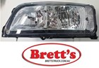 15400.117 LH LEFT HAND PASSENGER SIDE HEADLAMP ASSY HEAD LIGHT ASSEMBLY MITSUBISHI FIGHTER LEFT HAND MK580400 , 81150.107 , 15400.117 , 3787194-1 , 3787194-1G , MB100-202-2 , 3R0783   HEADLAMP FITTED TO MODELS IN BUMPER BAR FROM 2011-2/2013 !!