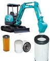KITK304 FILTER KIT KOBELCO SK40SR2 SK40Engine: YANMAR   KOBELCO MINI EXCAVATOR  FILTERS   OIL FUEL  AIR FILTER SET