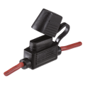 54406 In-Line Standard ATS Blade Fuse Holder with Weatherproof Cap Amperage rating 30A (fuse not included) 54406BL 54406/1 IN LINE BLADE FUSE HOLDER
