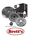 DMF1876N DMF1876  CLUTCH KIT PBR VOLKSWAGON Caravelle   2.4L 2.4 Ltr 5 Cyl   Transporter 0 2.4L 2.4 Ltr  Ci CLUTCH INDUSTRIES CLUTCH KIT FREE SHIPPING*  Includes Clutch Kit + OEM Style Dual Mass Flywheel  R1876 R1876N