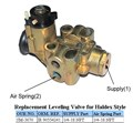 15774.635 HEIGHT CONTROL VALVE NEWAY 90554241 STYLE 90554241 ABC54241  SM3670   SP0200  SM-3670 S9434  88Y2507  3264970R1  54241 LEVEL LEVELLING