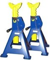 ASR4000 PAIR AXLE STAND 4 TON RATCHETT  FULLY APPROVED JACK STANDS  4000kg Rated Jack Stands - Ratchet Type  Lowered Height - 395mm  Raised Height - 605mm  Fully Complies with Australian Standards  One Pair 1110 110TQ 19039  1148 1148TQ AXLE STANDS 4T