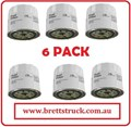 FC0036ZX6 6 PAK PACK FUEL FILTERS FUEL FILTER M.A.N. FC0036 FC0036Z ENGINES SCANIA D11 / DN11 SCANIA D8 / DN14 / DN8 SCANIA DS11 R40A TURBO w/ Spin On Fuel Filters SCANIA DS14 / DS18 / DS8 SCANIA DS9 / DSC9 VOLVO   Z75 243004 P553004