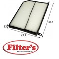 AC0191 CABIN AIR FILTER   AZUMI AC46002 FORD XW4H-19N619-AA FORD XW4H-19N619-AB FORD XW4Z-19N619-AC JAGUAR XR81503 JAGUAR XR81504 JAGUAR XR838396 MAHLE/KNECHT LA 379