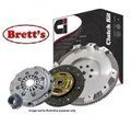 DMR1876N DMR1876 CLUTCH KIT PBR Ci    VOLKSWAGON Caravelle 07/1990-04/2003 2.4L 2.4 Ltr 5 Cyl Diesel  AAB  > Eng No 370181  Transporter 07/1990-02/2003 2.4L  REPLACES Dual Mass Flywheel   CLUTCH INDUSTRIES CLUTCH KIT FREE SHIPPING*   R1876N R1876