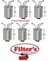 FS0044X6 6 PAK FS0044 6 PACK  FUEL FILTER SSANGYONG SSANGYONG (TURBO DIESEL only)  Actyon 200 XDi   2007-on Actyon A200S 2.0L   2007-on Kyron 2.0L XDi   2006-on Kyron 2.7L XDi   2006-on Musso 2.9L TD   07/04-on Rexton RX270 2.7L XDi  Stavic 2.7L XDi