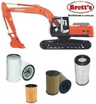 KITH004 FILTER KIT SUIT HITACHI EXCAVATOR ZX240 ZX240LC-3 ZX SERIES OIL FUEL - AIR OUTER  FILTER KIT SET EX