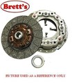 R2365N R2365 CLUTCH KIT ISUZU FVD32 08/00 - 7.1 Ltr TDI  7 Speed + Overdrive 6HE1-TC (Sitec 230) FVR32 01/98 - 7.1 Ltr TDI  MLD 7 Speed 6HE1-TC ISK7208 ISK-7208 92955268