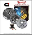 DMF2331N-CSC DMF2331N CLUTCH KIT PBR  Includes Clutch Kit + OEM Style Dual Mass Flywheel MERCEDES BENZ A190 W168.032 02/99 - 1.9 Ltr Manual Shift 08/04 M166.990 W168.132  *FREE SHIPPING R2331 R2331N R2331N-CSC