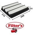 A12616 AIR FILTER CHEVROLET  GM Epica Air Supply Sys Jan 07~Jan 12 2.0 L V250 LLW  Air Supply Sys Feb 07~Jan 12 2.0 L KL1 Z20S   DAEWOO Epica Air Supply Sys Feb 07~ 2.0 L KL1 Z20S KW:110
