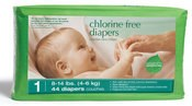 Seventh Generation eco-disposable Diapers (Nappies)