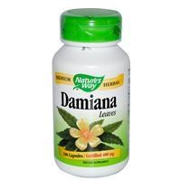 Nature's Way Damiana Leaves 100 Capsules