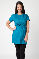 Pintuck Overshirt by Ripe Maternity