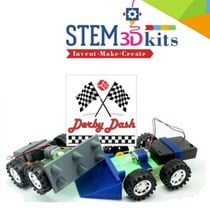 3D Printing STEM Kits - Demolition Derby Dash