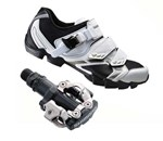 Shimano WM63W & M520 | Ladies Mountainbike Shoe & Pedal Combo