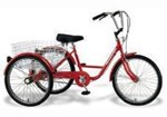 Gomier 24' - 6 speed Adult Tricycle