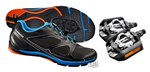 Shimano CT71 + PD-T420 Click'R   Cycling Commuter Shoe & Pedal Combo
