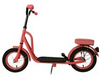 Girls Retro Style Coral Scooter