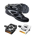 Shimano CT40 + PD-T400 Click'R | Cycling Commuter Shoe & Pedal Combo