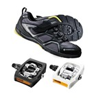 Shimano CT70 + PD-T400 Click'R | Cycling Commuter Shoe & Pedal Combo