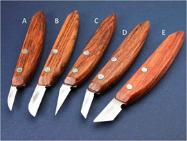 """[B] 1.25"""" Carving Knife (32mm Straight) High Carbon Steel"""