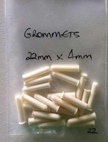 Individual Grommets 22mm x 4mm White