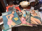 6 Vintage Collectable 1950's Australian Post & People Magazines Fashion Articles
