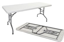 Kellys - Express Plastic Folding Table