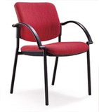 Keri Client Chair  arms black only