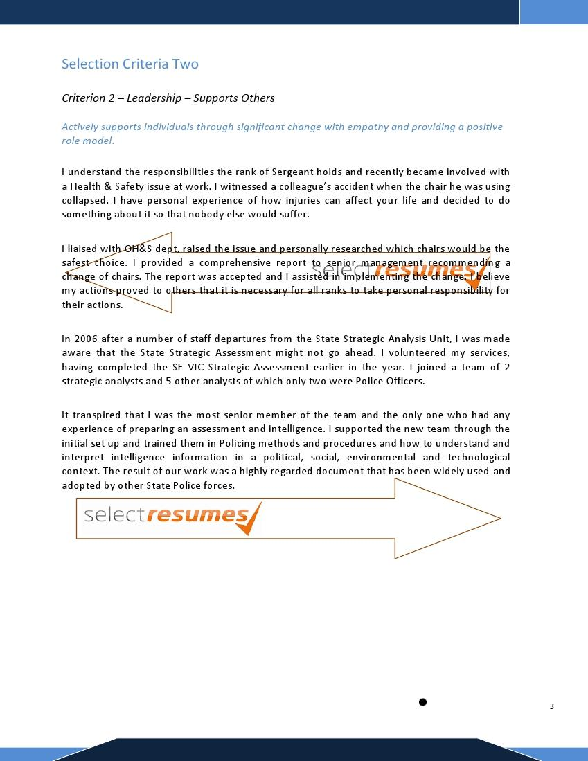 Cover letter addressing selection criteria examples how to write cover letter sales marketing position selection criteria madrichimfo Gallery