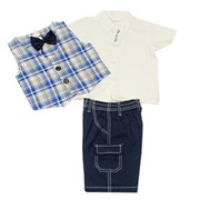 Master MC 4 Pieces Set  - Baby Boys Clothes
