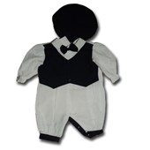 Sailor In Bow Tie With Hat 2 Pieces Set - Baby Boys Clothes