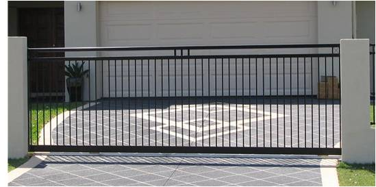 Sliding gate style 5m long x 1600 high gate and for Sliding gate motor price in india