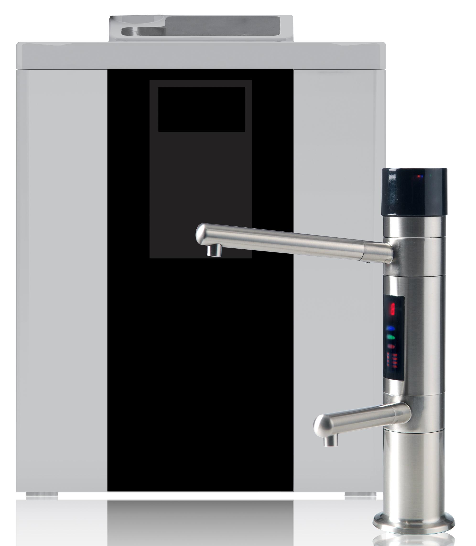 Alkaline 7 Plate Water Ionizer Purifier Under Sink Two Filters