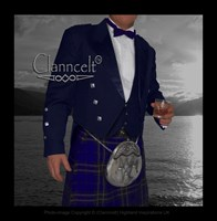 Prince Charlie Jacket and Vest - Blue