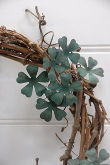 Flower Sprig with Patina