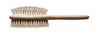 Animal Brush Wood Pin