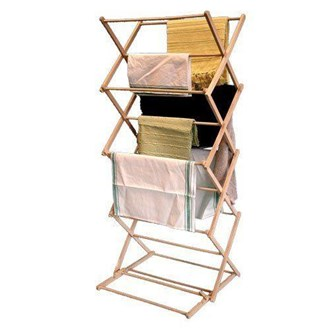 Basic Folding Clothes Horse- SECONDS